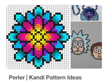 Perler and Kandi DIY Making. Learn how to make perlers like a professional raver!