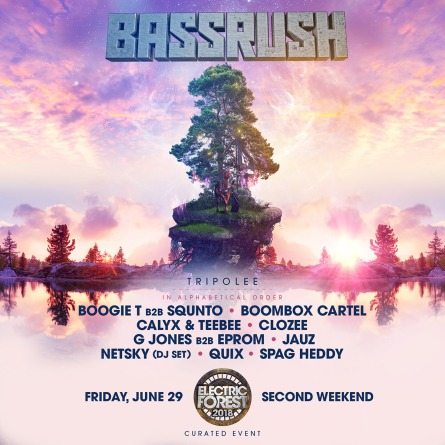 bassrush weekend 2 electric forest