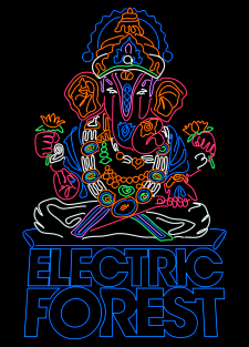 electric forest shiva
