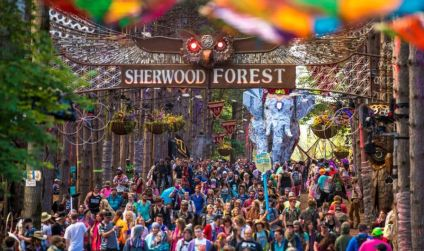 sherwood forest- electric forest